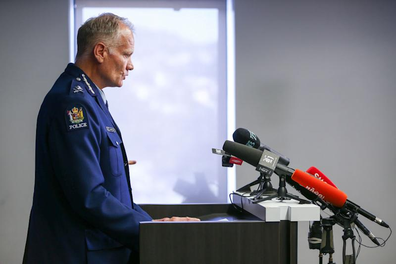 Police Deputy Commissioner John Tims speaks to media during a press conference at Police National Headquarters on December 11, 2019 in Wellington. Source: Getty