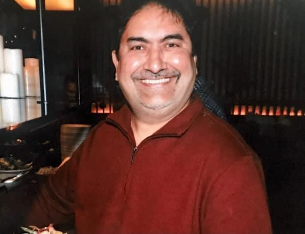 Kanaiya Gandhi, a Brampton man, developed COVID-19 symptoms in late December after an outbreak at the plant where he worked in York Region. About eight to 12 workers out of about 40 at the Woodbridge plant tested positive for COVID-19. He died on Feb. 4, 2021 at the age of 58. (Submitted by Radhika Gandhi  - image credit)