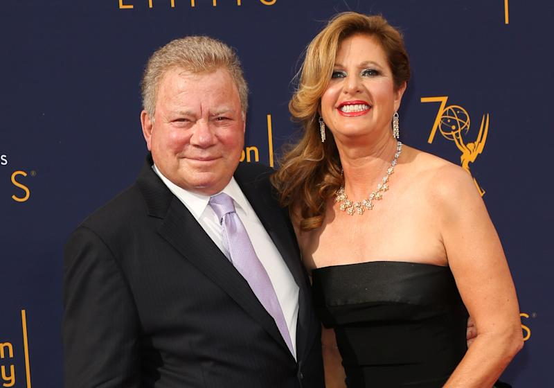 William Shatner (left) has filed for divorce from his wife of 18 years, Elizabeth Shatner. (Photo: Paul Archuleta via Getty Images)