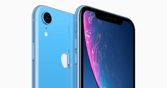 Blue iPhone XR