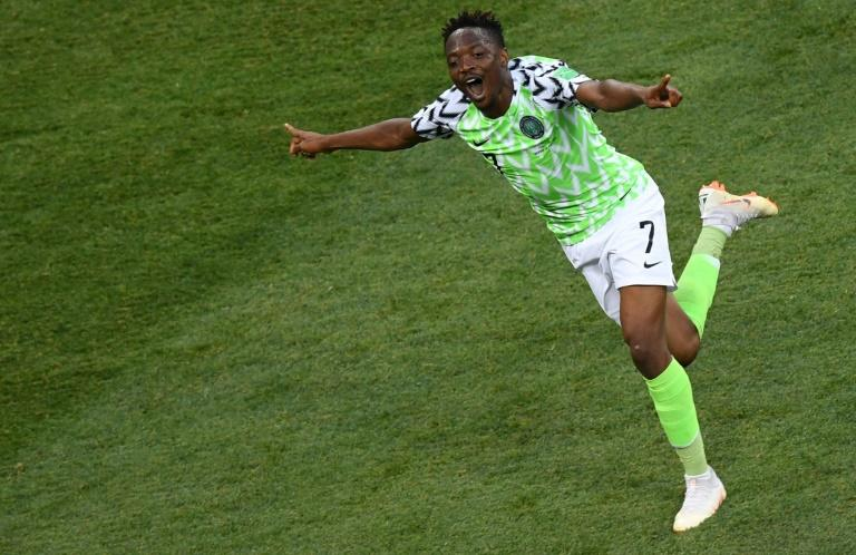 Ahmed Musa is the first Nigerian to score at two World Cups