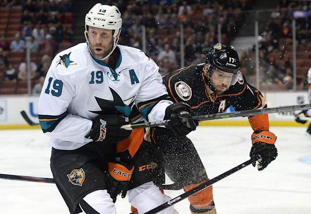 Can Joe Thornton go from losing 'C' to MVP?