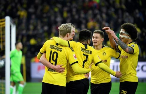 Borussia Dortmund's prolific attack has produced 15 goals in three games in 2020