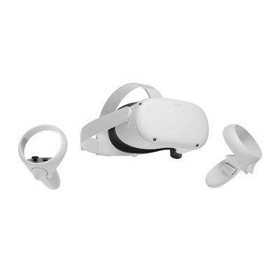 """<p><strong>Oculus</strong></p><p>target.com</p><p><strong>$299.00</strong></p><p><a href=""""https://www.target.com/p/oculus-quest-2-advanced-all-in-one-virtual-reality-headset-64gb/-/A-80899798"""" rel=""""nofollow noopener"""" target=""""_blank"""" data-ylk=""""slk:SHOP NOW"""" class=""""link rapid-noclick-resp"""">SHOP NOW</a></p><p>For all your tech-savvy, gadget-obsessed friends: invite them into an alternate reality. This is a fun new toy they'll enjoy on nights at home and when they finally have guests over to celebrate post-nuptials. </p>"""