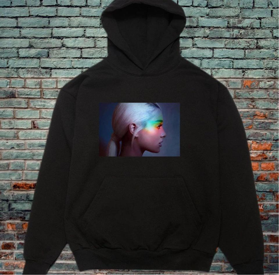 <p>Let them get cozy with this <span>Ariana Grande Hoodie Custom Print</span> ($35). The oversized hoodie is such a vibe for the winter. It comes in a variety of colors, so choose their favorite one!</p>