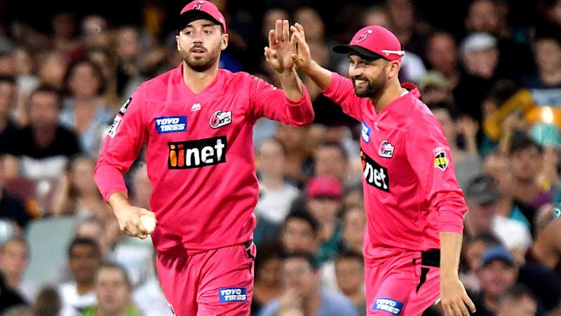 James Vince, pictured here celebrating the dismissal of Ben Cutting in the Big Bash.
