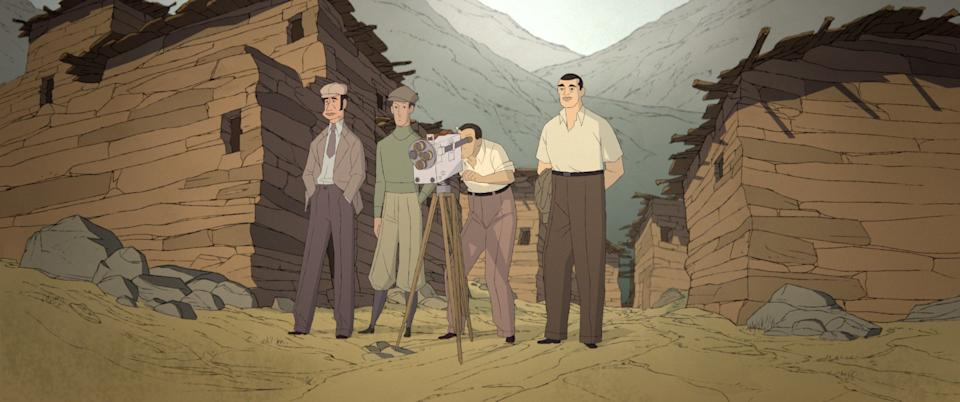 A still from Buñuel in the Labyrinth of the Turtles. (GKIDS)