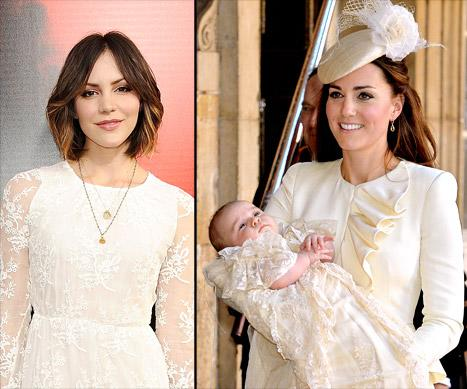"""Katharine McPhee """"Embarrassed"""" by Scandal; Prince George's Christening Portraits Revealed: Today's Top Stories"""