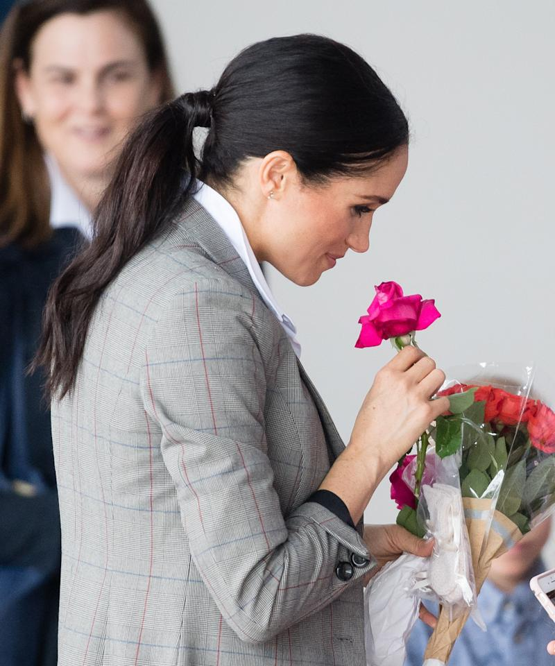 Meghan Markle gets scared while launching model auto