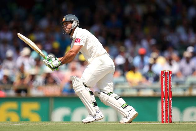 Ricky Ponting of Australia bats during day two of the Third Test Match between Australia and South Africa at the WACA on December 1, 2012 in Perth, Australia.  (Photo by Cameron Spencer/Getty Images)