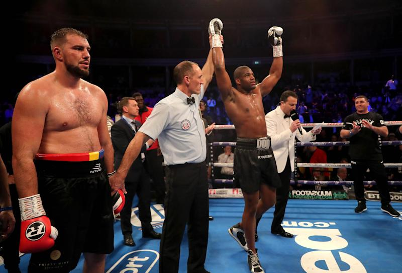Dubois racked up win no. 10 in March. (Getty Images)