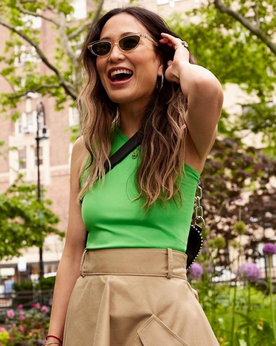 <p><strong>POPSUGAR: If you could buy just one piece for summer, what would it be?</strong><br> <strong>Caroline Maguire:</strong> That is impossible as there are SO many pieces I am excited about this summer!!! The one I've invested in the most so far would have to be high volume dresses.</p> <p><strong>PS: What are the five biggest trends for summer?</strong></p>
