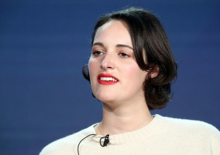 Actress and screenwriter Phoebe Waller-Bridge, pictured in February 2019, has seen a meteoric rise, propelled in part by her sharp writing style