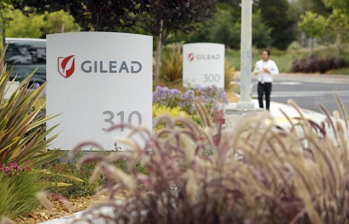 """Gilead Sciences, based in Foster City, Calif., has repurposed its Ebola drug remdesivir for COVID-19 treatment. <span class=""""copyright"""">(Eric Risberg / Associated Press)</span>"""