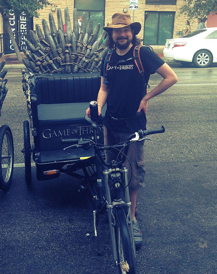 Game of Thrones is here. #sxsw