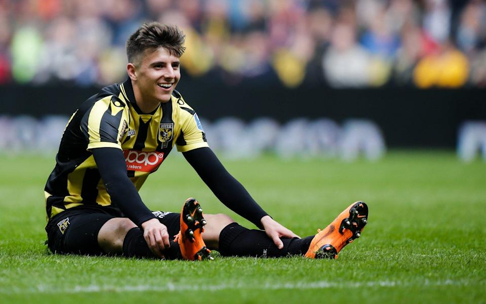Mason Mount footballer player euro 2021 squad - GETTY IMAGES