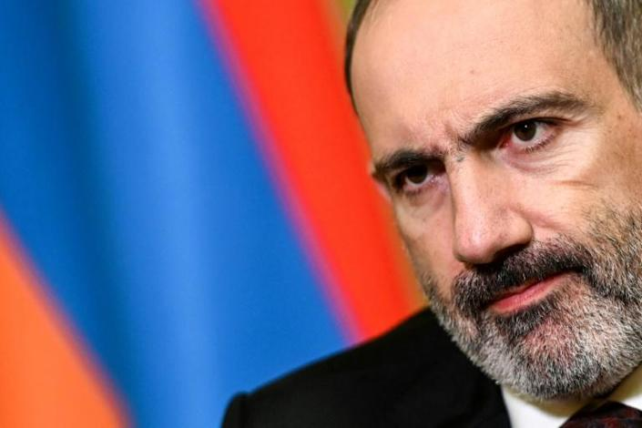 Armenian Prime Minister Nikol Pashinyan tells AFP that Turkey is behind renewed conflict over the disputed Karabakh region