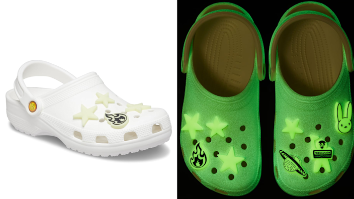 Lights off, Crocs on.