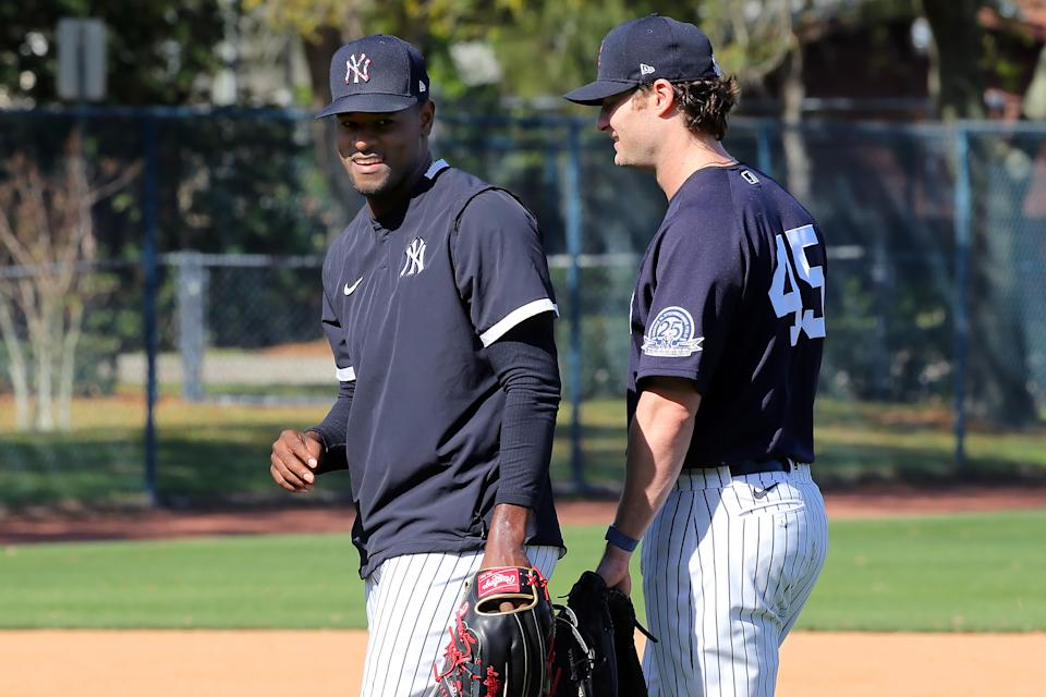 The Yankees' rotation options are getting squeezed without Luis Severino. (Photo by Cliff Welch/Icon Sportswire via Getty Images)