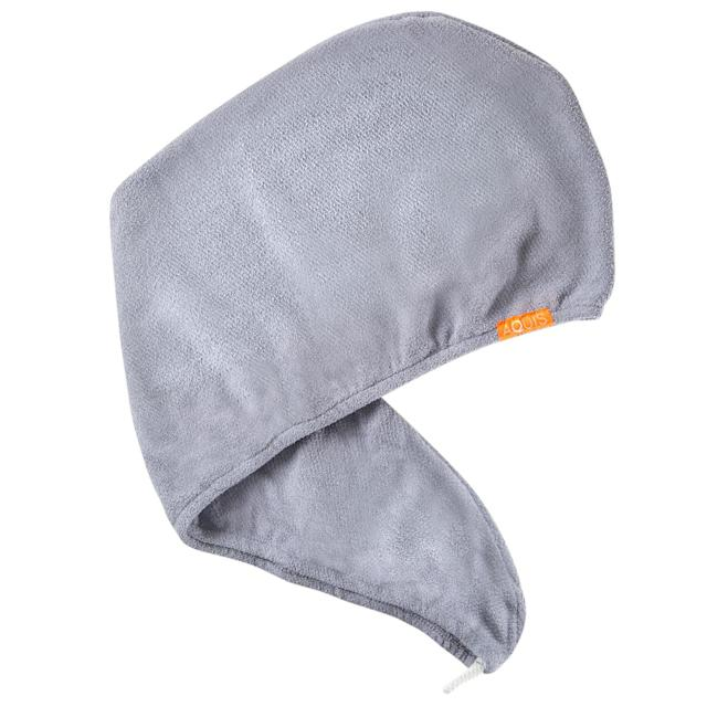 "<p>Don't have hours to wait for your hair to dry? No problem. Simply wrap your curls up in this microfiber turban and let it go to work. It soaks up water in half the time it takes to blow-dry. Tip: Try layering this on top of your hair when using a deep-conditioning mask with a shower cap. $30, <a href=""https://aquis.com/products/lisse-luxe-hair-turban"" rel=""nofollow noopener"" target=""_blank"" data-ylk=""slk:aquis.com"" class=""link rapid-noclick-resp"">aquis.com</a> (Photo: Courtesy of Aquis) </p>"