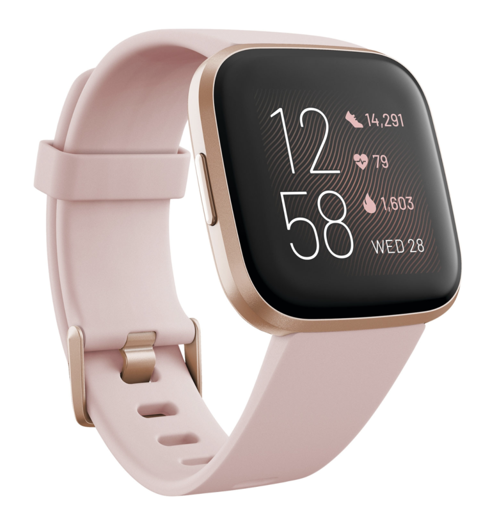 Fitbit Versa 2 40mm Smartwatch with Amazon Alexa & Heart Rate Tracking (Photo via Best Buy Canada)