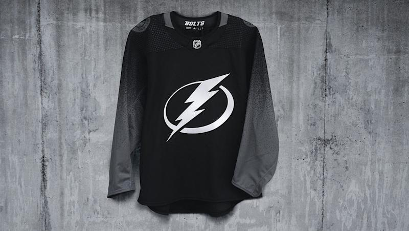 finest selection 256d2 c9aef Pass or Fail: Lightning go 'stealth mode' with third jerseys