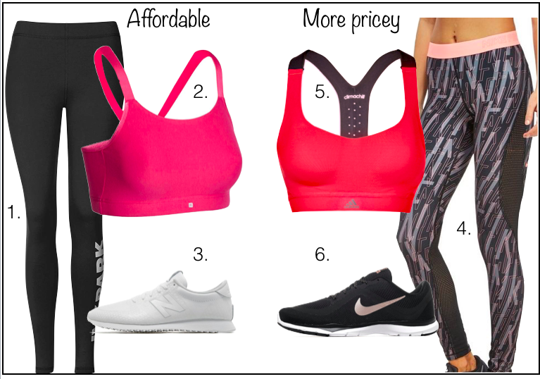 Cheap Vs Expensive Fitness Clothes And Trainers How Much Should We