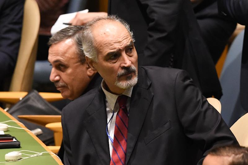 Syrian Ambassador to the UN Bashar Jaafari has written to the Security Council to demand that it upholds resolutions demanding an Israeli withdrawal from the Golan