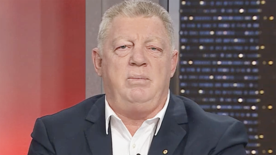 Phil Gould appeared on Channel 9's 100% Footy to criticise Queensland's selection of Reece Walsh.