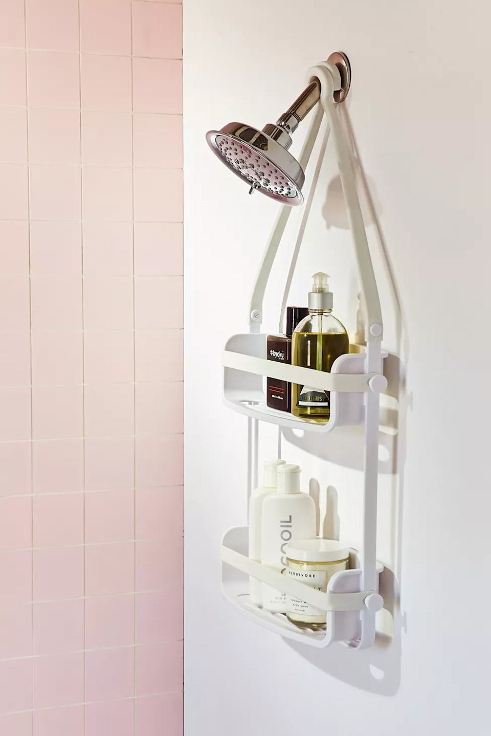 "<h2><a href=""https://www.urbanoutfitters.com/shop/preston-flex-shower-caddy"" rel=""nofollow noopener"" target=""_blank"" data-ylk=""slk:Urban Outfitters Preston Shower Caddy"" class=""link rapid-noclick-resp"">Urban Outfitters Preston Shower Caddy</a></h2><br><strong>When your dream bathroom beauty #shelfie is just a dream:</strong> This over-the-shower-head solution is ready for its Instagram closeup, displaying everything from your enviable skin to hair-care routines and even your favorite tiny succulents. <br><br><strong>Urban Outfitters</strong> Preston Shower Caddy, $, available at <a href=""https://go.skimresources.com/?id=30283X879131&url=https%3A%2F%2Fwww.urbanoutfitters.com%2Fshop%2Fpreston-flex-shower-caddy"" rel=""nofollow noopener"" target=""_blank"" data-ylk=""slk:Urban Outfitters"" class=""link rapid-noclick-resp"">Urban Outfitters</a>"