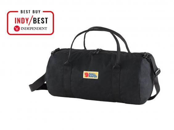 This bag will keep its shape, even after it's been stuffed into a gym locker (The Independent)