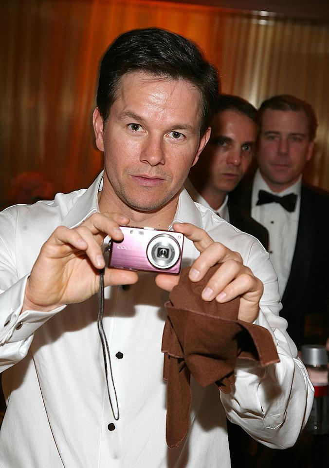 "Mark Wahlberg turned the tables on photographers. Angela Weiss/<a href=""http://www.wireimage.com"" target=""new"">WireImage.com</a> - January 11, 2009"