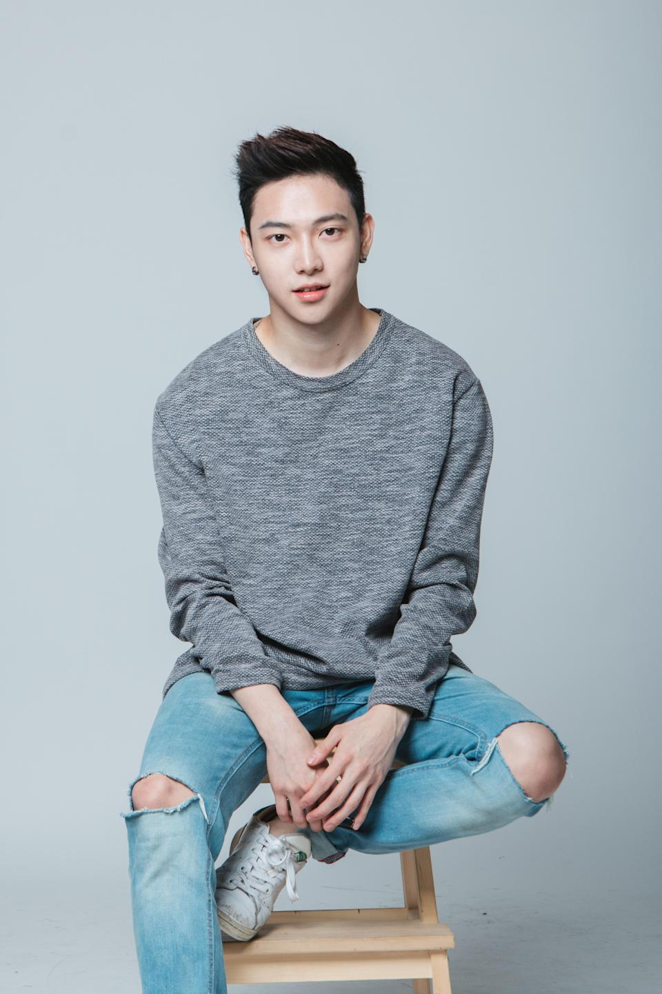 Alfred Sng scored a contract with Alpha Entertainment and was almost ready to train to debut in a K-pop boy group, until it was time for him to enlist in National Service.