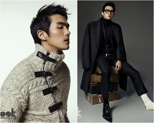 Seulong, actor and a good looking model even with a cast