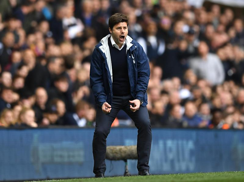 Pochettino has urged his side to go on and win the Premier League title: Getty