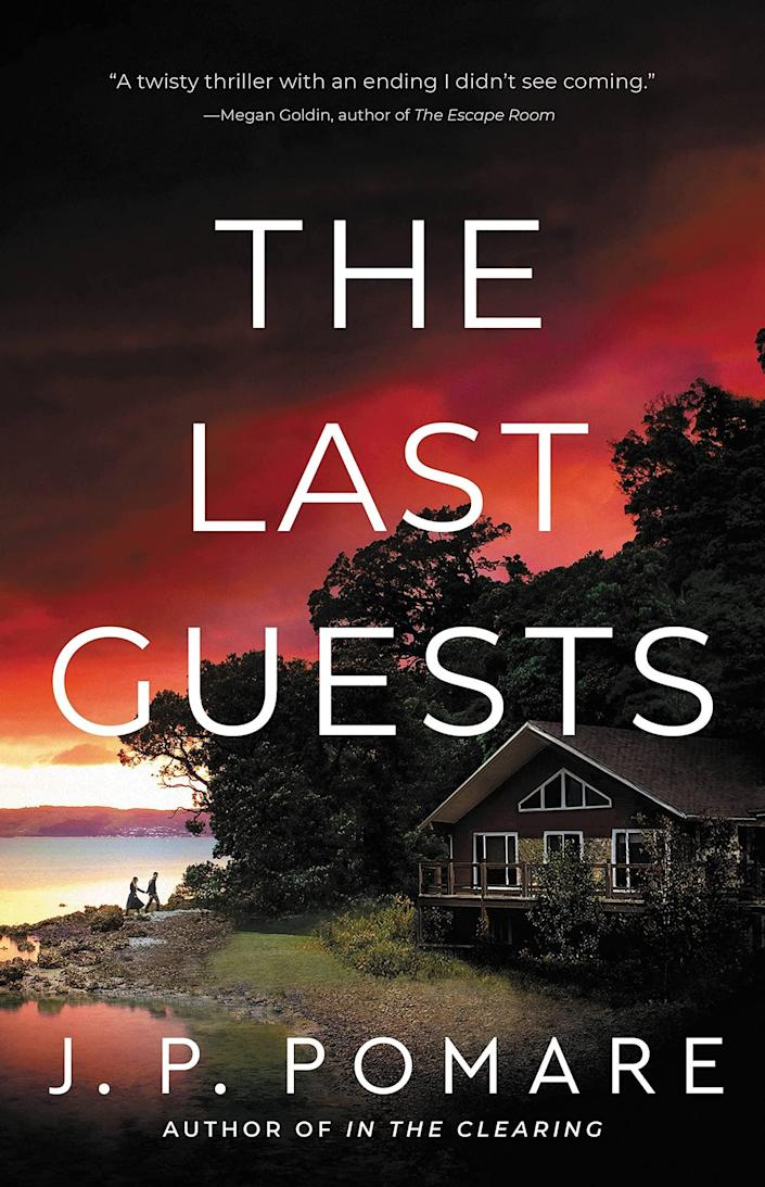 <p>Prepare to get goosebumps when you read <span><strong>The Last Guests</strong></span> by J.P. Pomare. When a newlywed couple decide to rent out their lake house for extra income, the last thing they expect is for someone to be watching their every move - which is especially inconvenient since Lina and Cain have secrets they're desperate to keep. </p> <p><em>Out Aug. 31</em></p>