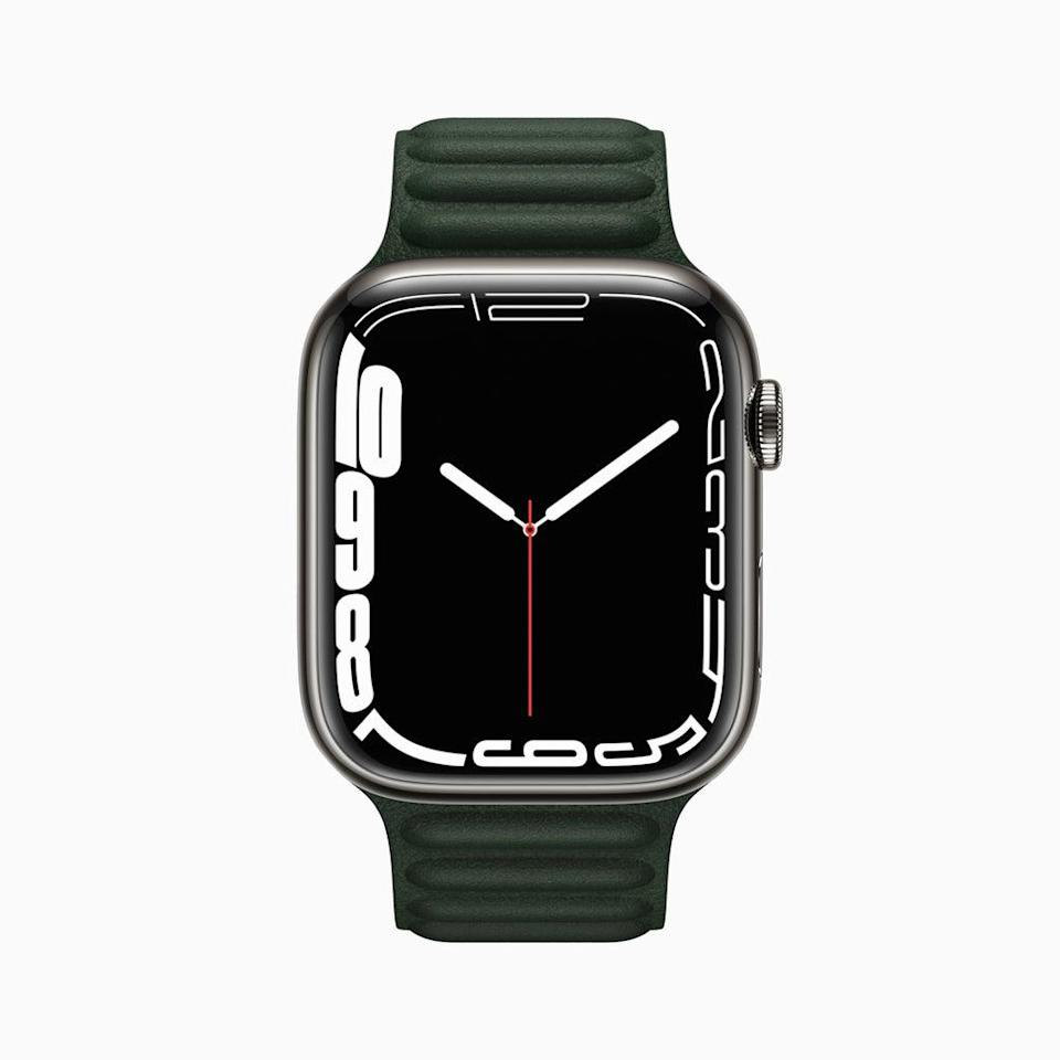 The newest Apple Watch has been given a larger screen. (Apple)