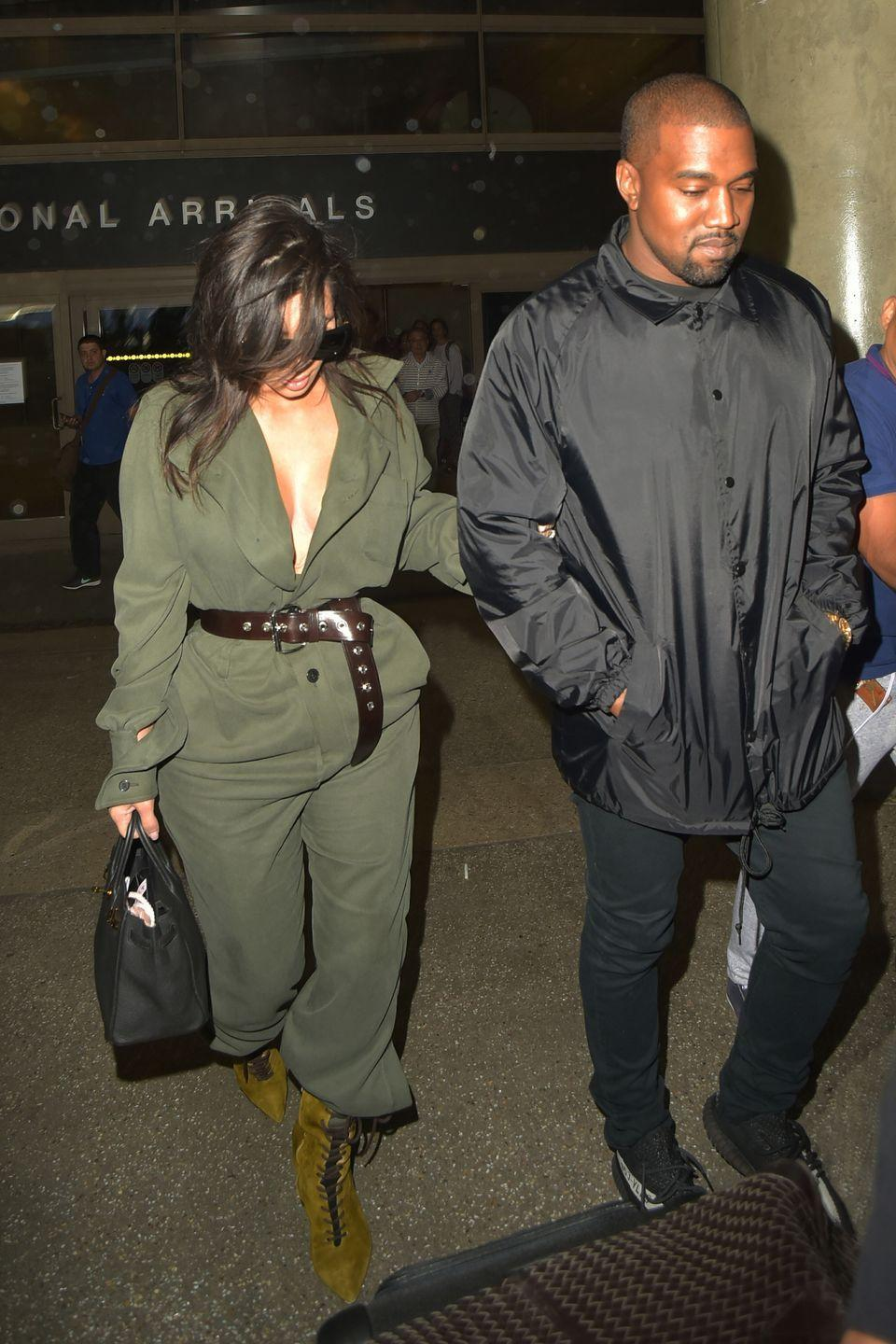 <p><strong>Kim Kardashian, 2016: </strong>Should've worn one of those Wolford bodysuits. At least they snap at the crotch for easy bathroom trips!</p>