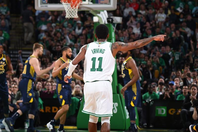 Kyrie Irving erupts for 37 points, Celtics edge Pistons