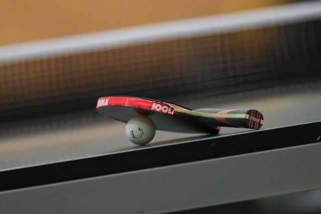 Gambling on international table tennis has become increasingly popular in the United States amid the coronavirus pandemic. (TF-Images/Getty Images)
