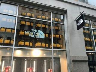 north face storefront