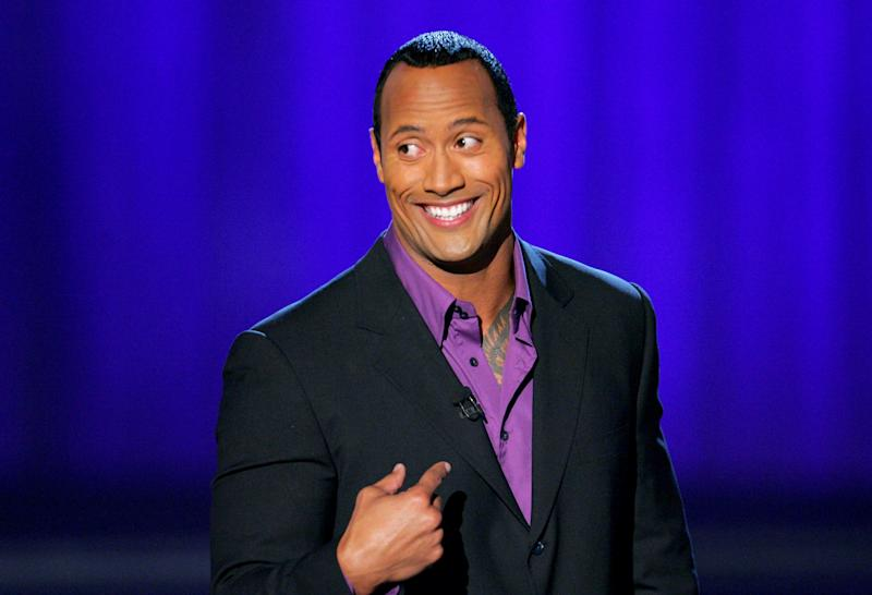 "Dwayne ""The Rock"" Johnson, host (Photo by John Shearer/WireImage)"