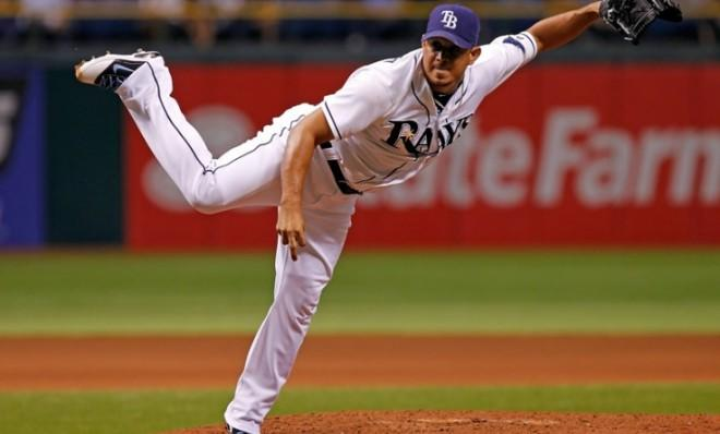 Considering his pitching form, you'd think Joel Peralta's body would be pretty used to sudden, exaggerated movements.