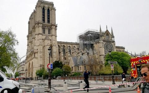 Greece says it has experience in restoring medieval buildings, which could help Notre-Dame - Credit: Pyotr Larionov/TASS