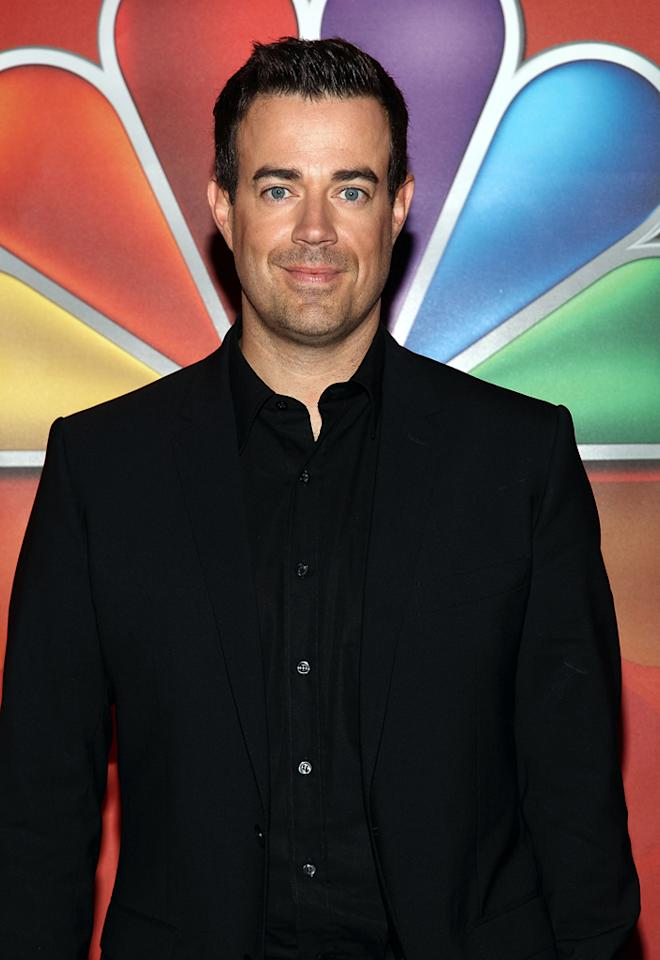 "Carson Daly (""The Voice"") attends NBC's 2012 Upfront Presentation at 51st Street on May 14, 2012 in New York City."
