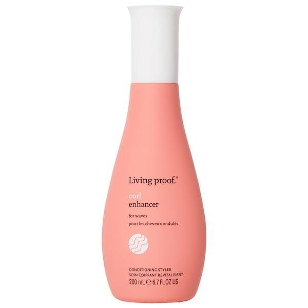 <p>This <span>Living Proof Curl Enhancer</span> ($34) is a lightweight, leave-in conditioner that enhances your natural curly or wavy texture with more definition and less frizz.</p>
