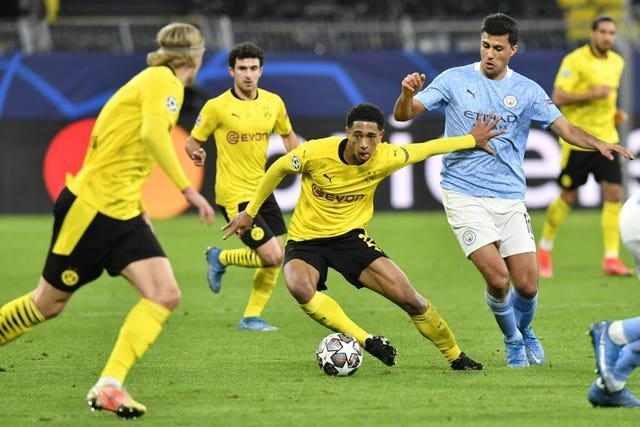 Jude Bellingham was the key player for Dortmund
