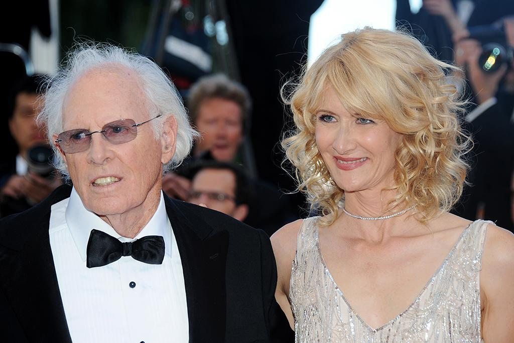 CANNES, FRANCE - MAY 23: Bruce Dern and Laura Dern attend the 'Nebraska' premiere during The 66th Annual Cannes Film Festival at the Palais des Festival on May 23, 2013 in Cannes, France. (Photo by Stuart C. Wilson/Getty Images)
