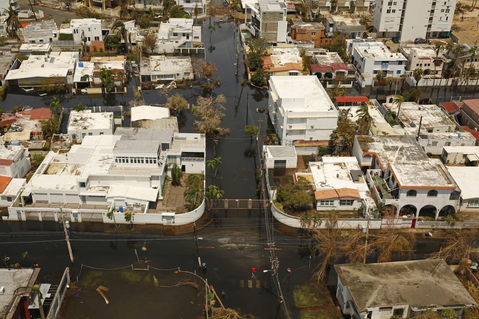 Puerto Rico has been devastated by Hurricane Maria. Copyright: [Getty]