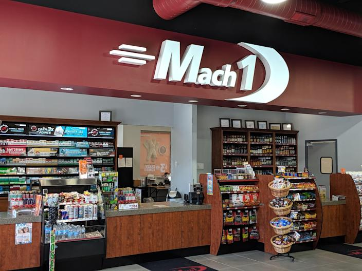 Forget your image of dirty truck stops, Mach 1 #12 in Frankfort, Ill., ranks among the nation's cleanest in Trucker Path surveys.